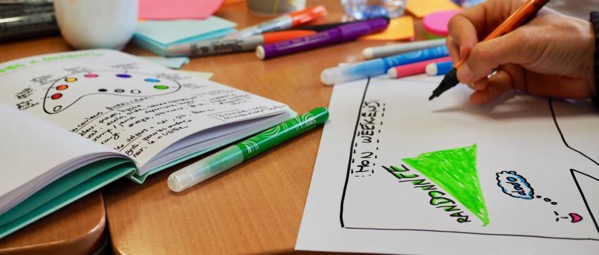 Communiquer par le visuel : découvrir et pratiquer la facilitation graphique !