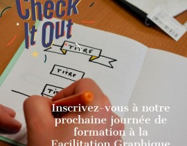 Atelier Facilitation Graphique le 11 février 2020 sur Grenoble