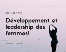 Springboard Tremplin pour les femmes -  Brochure 2020