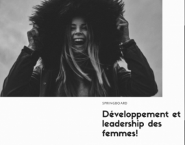 Springboard Tremplin pour les femmes -  Brochure 2021